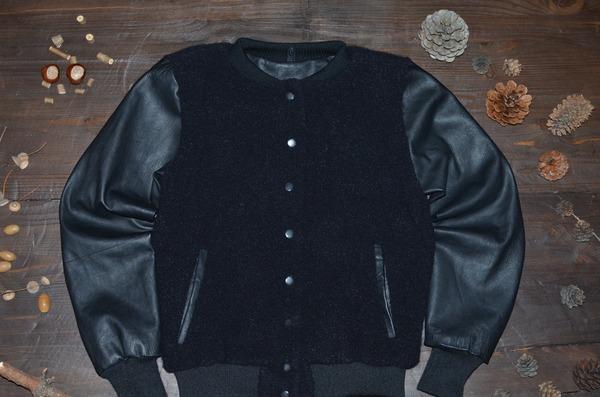 Фото. Комбинированное вязание куртка бомбер. Автор работы - Цап царап
