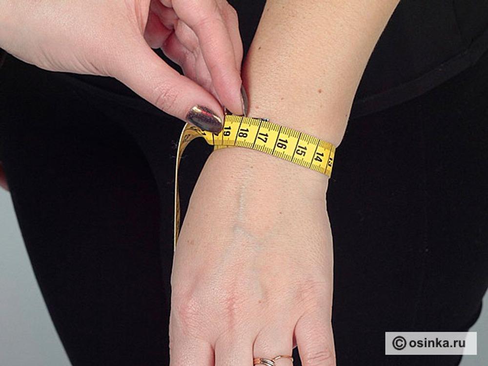 27. Озап - обхват запястья - измеряют по лучезапястному суставу с учетом косточки.