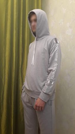 Фото. Спортивный костюм - худи и брюки.   Автор работы - YasyaMasya