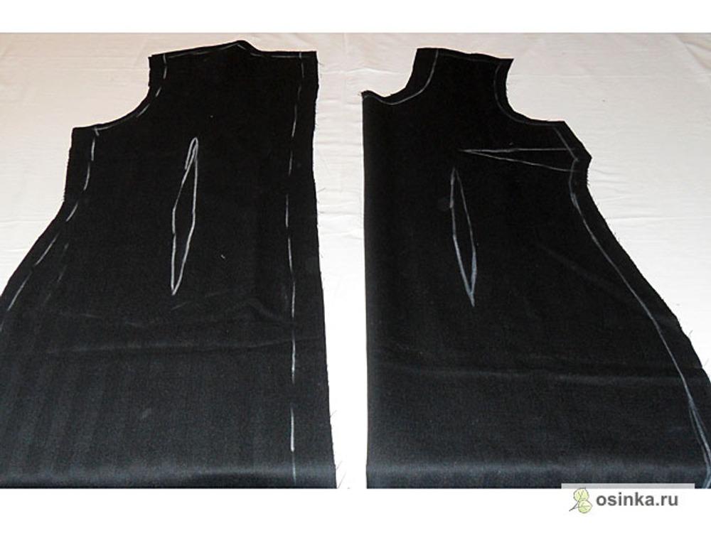 03. И детали платья –футляра.