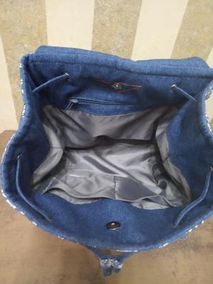 Фото. Внутри - как полагается - подклад и кармашек. Автор - AYouchka