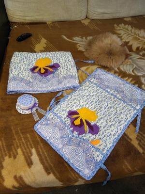 ИВеточка отправляла посылку для koshachic :чехол, коврик и игольница