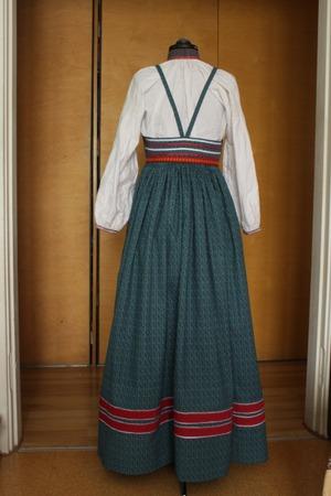 Фото. Традиционный русский сарафан для девицы, довольно простой. Автор работы - олЁна и ежик
