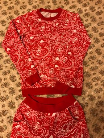 Фото. Теплая пижама.  Автор работы - Nadina_2007_07