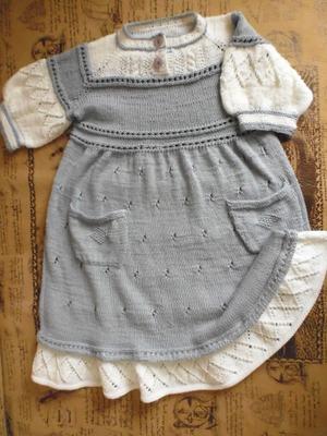 Фото. Платьице для двухлетней девочки. Автор работы - annava