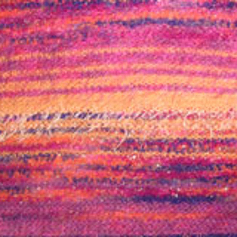 Вид с изнанки (видны перемены цвета в оборотах)