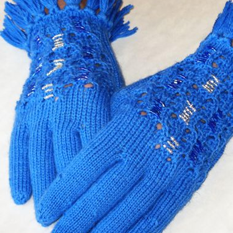 вязания запястья перчаток