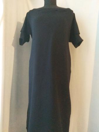 Фото. Платье из футера с начёсом.  Автор работы - St.Elena