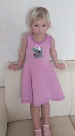 Фото. Платье из голландского журнала B'Trendy. Автор работы - Elly78