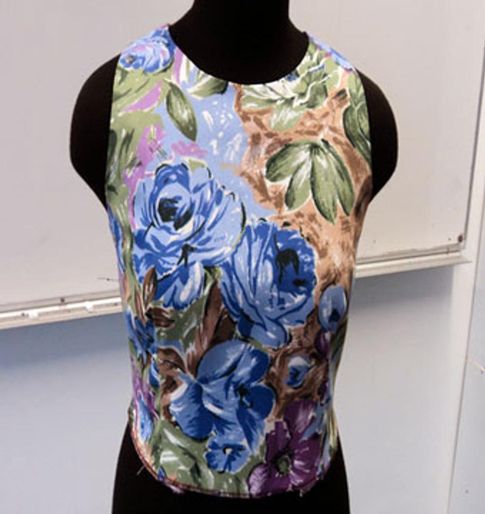 Обработка горловины у летнего платья