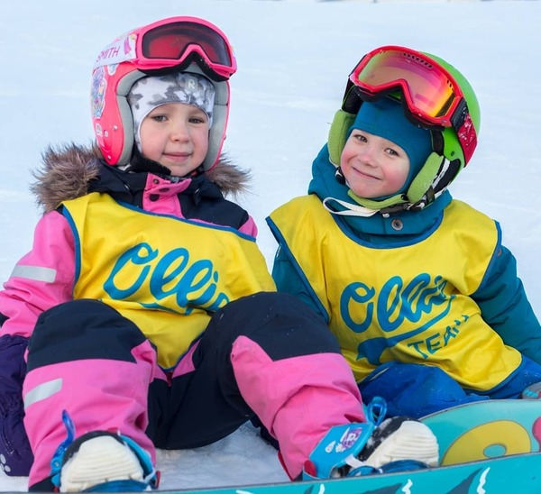 Фото. Жилетки для школы сноуборда.  Автор работы - Алесенок_007