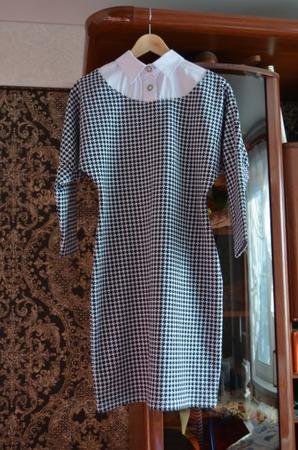 Фото. Мастхэвное восьмимартовское платье.   Автор работы - ЮлияБ