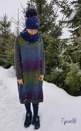 """Фото. Платье """"Снегирь"""" для мамы. Автор работы - Гусик@"""