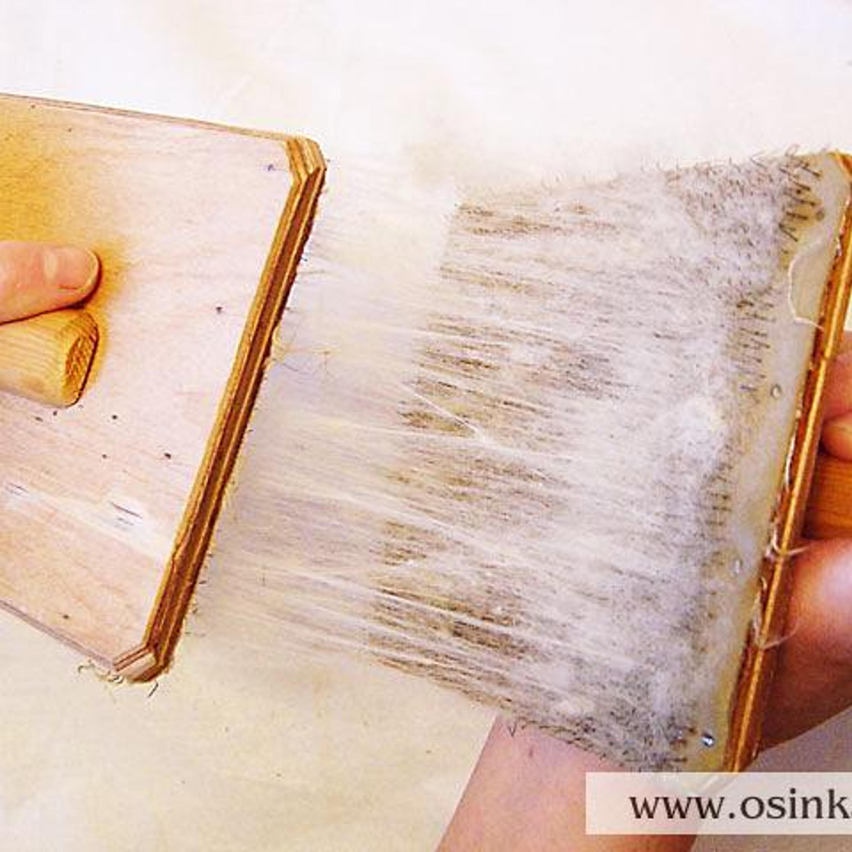 ...я пользуюсь гребенками – на одну кладу растеребленную шерсть, другой «прочесываю»...