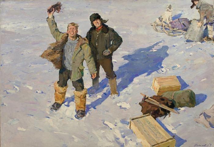 """Фото. Гадалов О. """"Геологи"""", 1963."""