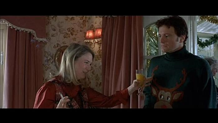 """Фото. Знаменитый """"рождественский"""" свитер из к/ф """"Дневник Бриджит Джонс"""" (англ. Bridget Jones's Diary), 2001 ."""