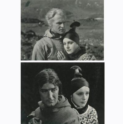 Фото. Кадры из к/ф Eskimo (Эскимо), Дания-Норвегия, 1930 г.
