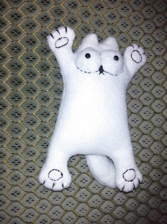 Фото. Кот Саймон - несложная и популярная модель. Автор работы - nnida