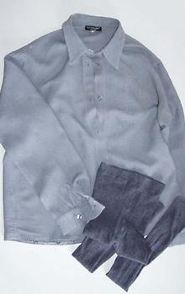 1. Что может быть общего у рубашки и колгот? Это синтез вещей. Детские колготочки + рубашечка в сумме - интересная и очень оригинальная блузка с трикотажными рукавами и поясом!