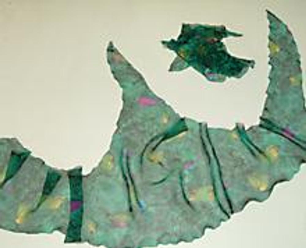 2. Топик состоит из основной детали и кусочков произвольной формы.