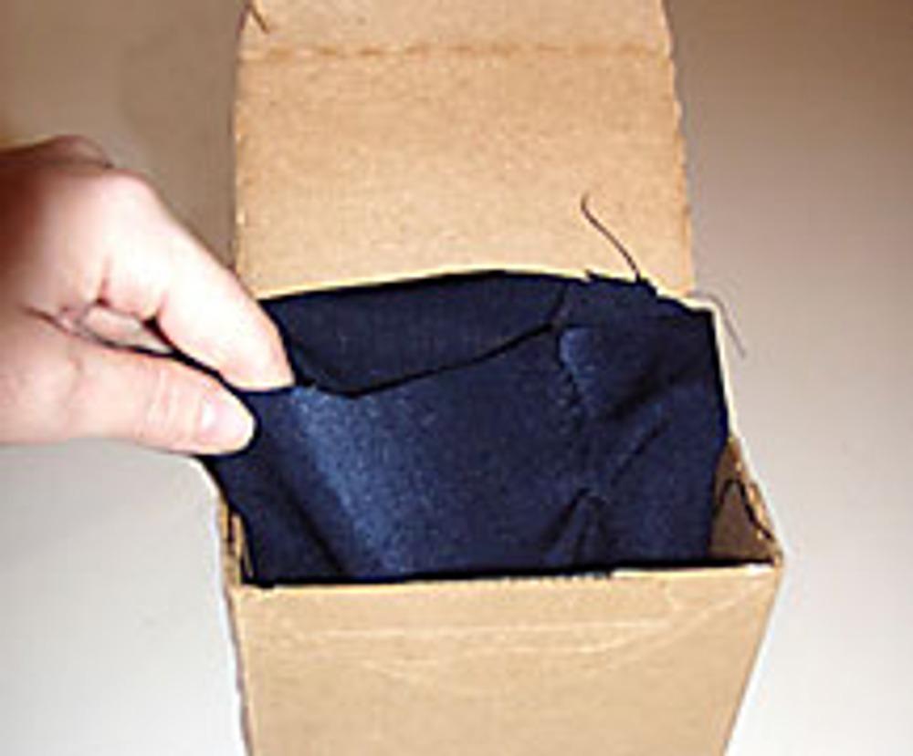3. Сшейте подкладку. Вставьте ее внутрь сумки.