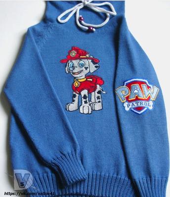 Фото. Детский свитерок с вышивкой.  Автор работы - Valentina05
