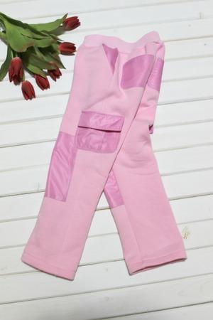 Фото. Тёплые штаны из футера. Автор работы - cvetok1977