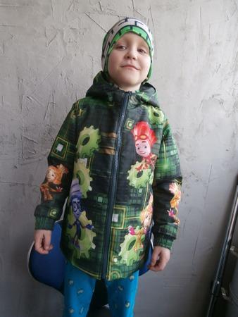 """Фото. Демисезонная куртка """"Купонные фиксики"""". Автор работы - vedunia"""