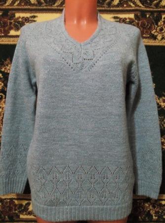 Фото. Пуловер. машинное вязание.  Автор работы - MarinaSmi33