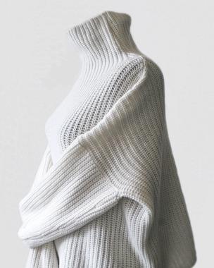 Фото. Вариация свитера Celine, кашемир с мериносом, машина.   Автор работы - innyshka