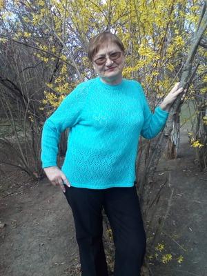 Фото. Ажурный свитерок из итал.мериноса 1500/100 гр в 2 нити.  Автор работы - Gurd