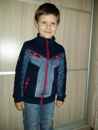 Фото 14. Сын ее называет летницкой курткой, и уже второй год носит с удовольствием, хотя уже рукава коротковаты и обтрепалась она, всё равно он ее очень любит.