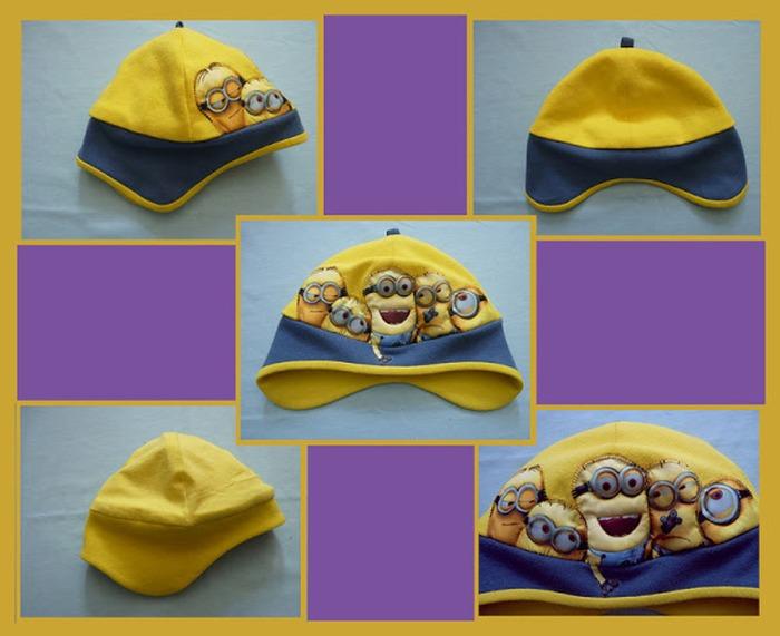 Фото 10. Это моя первая победная работа - шапка миньоны