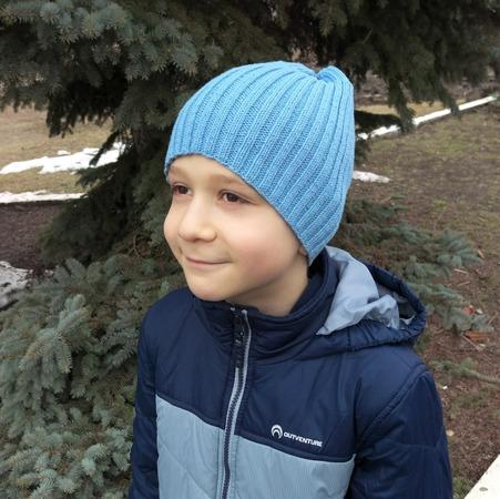 Фото. Шапка для сына.  Автор работы - Zolushkina_Tapetka