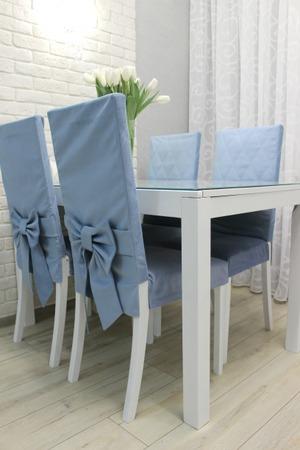 Фото. Чехлы на стулья. Автор работы - cvetok1977