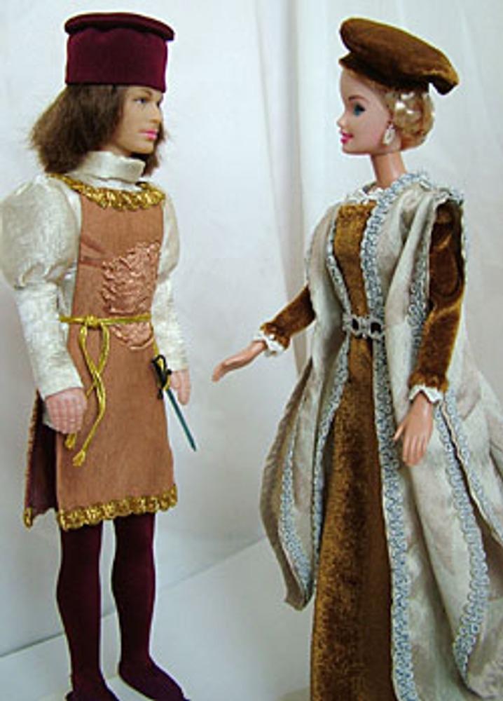 В период раннего Возрождения Италия сумела сохранить свой собственный вкус в покрое одежды и придать костюму простую и гармоничную форму.
