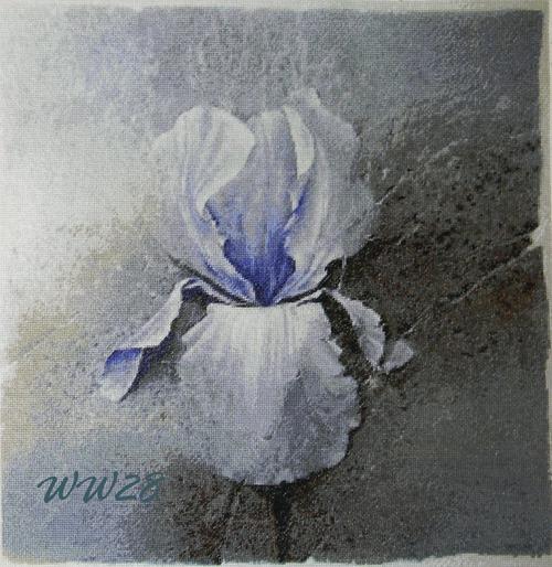 "Фото. Схема Ночки ""Дух воина"" по картине Pierre-Jean Couarraze.  Автор работы - WW28"