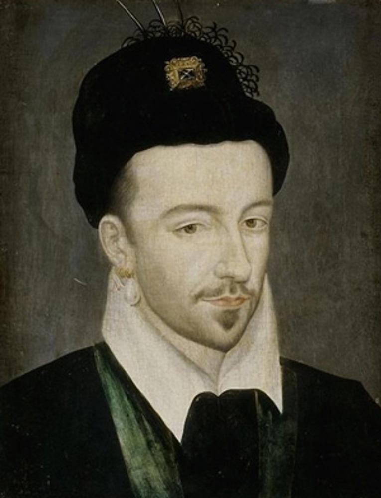 """Фото. Неизвестный художник. """"Портрет французского короля Генриха III"""", 1571-81 гг."""