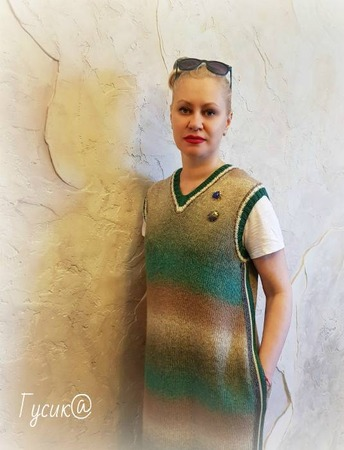 """Фото. Платье-жилет """"Халва"""".   Автор работы - Гусик@"""