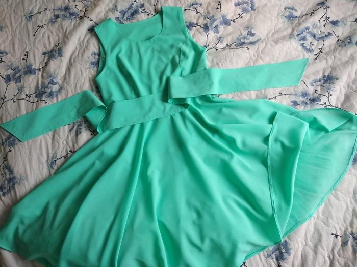 Фото. Платье выпускное племяннице.   Автор работы - Муми