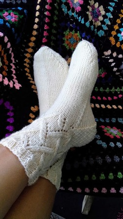 Фото. Носочки. Автор работы - Smitiha
