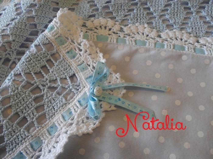 Фото. Плед для моего малыша.   Автор работы - creazioni-Natalia