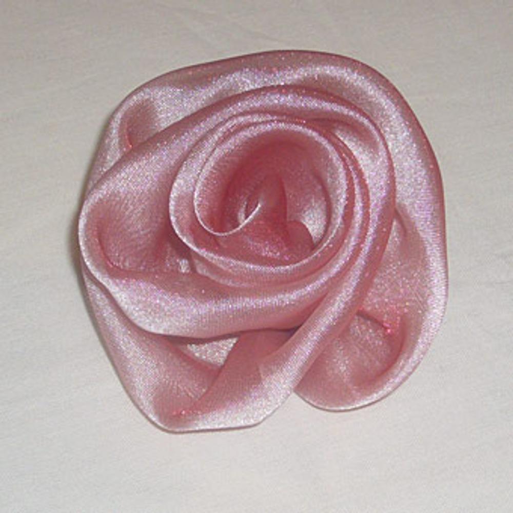 Розы из вуали своими руками мастер класс