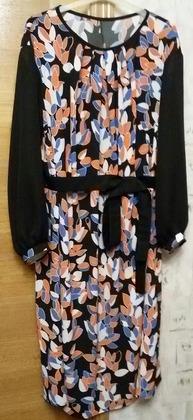 Фото. Платье по выкройке туники.  Автор работы - LULUSSI