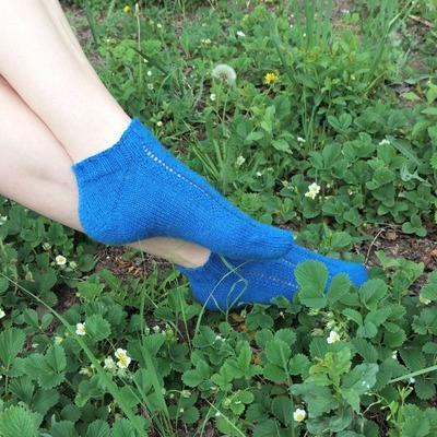 Фото. И еще одни носки для мамы.  Автор работы - Zolushkina_Tapetka
