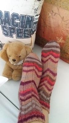 Фото. Мамины носочки.  Автор работы - Smitiha