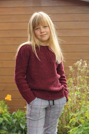 """Фото. """"Sweater RusticKids"""", дизайн Ланы Бакаевой.  Автор работы - Gretel"""