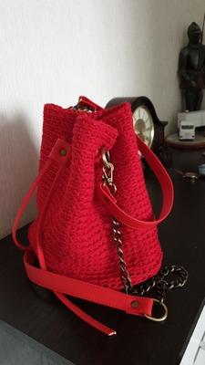 Фото. Торбочка для подарков = рюкзачок. Автор работы - _Скарлетт_