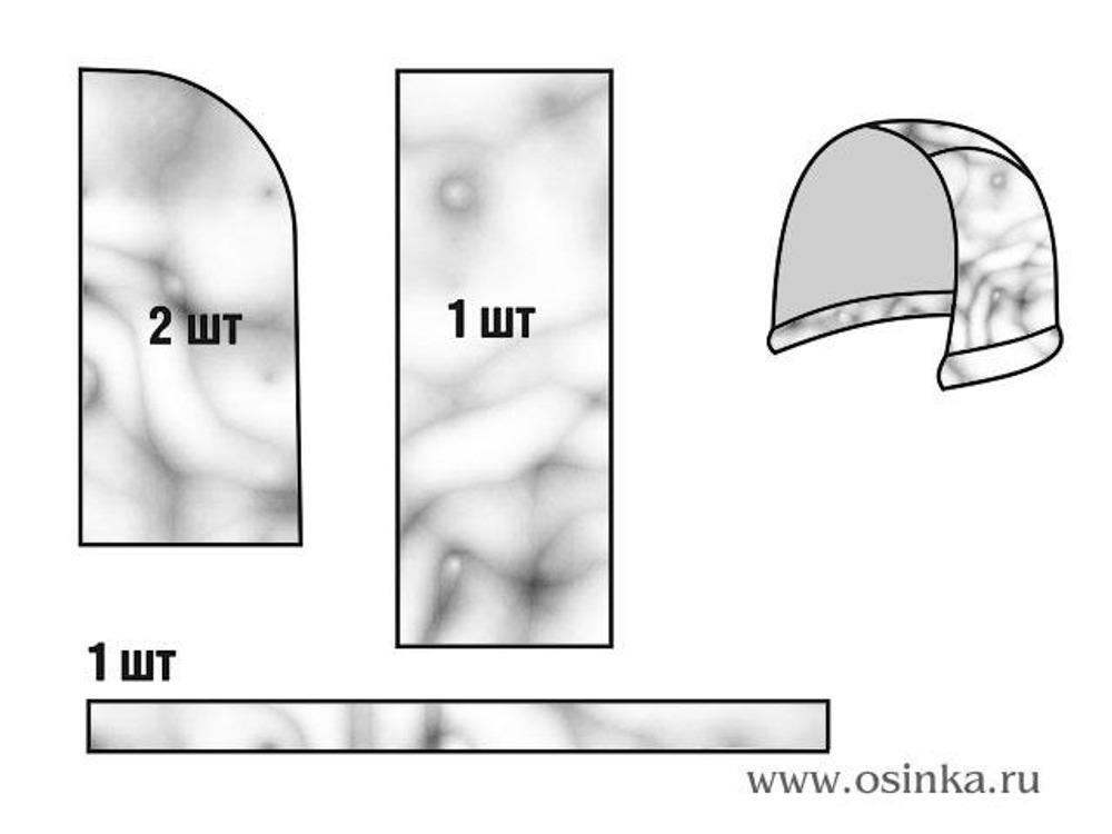 Примерная схема выкройки