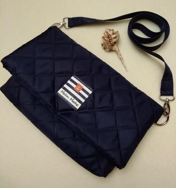 Фото. Удобная сумочка из термостежки на оксфорде.   Автор работы - qwelle09